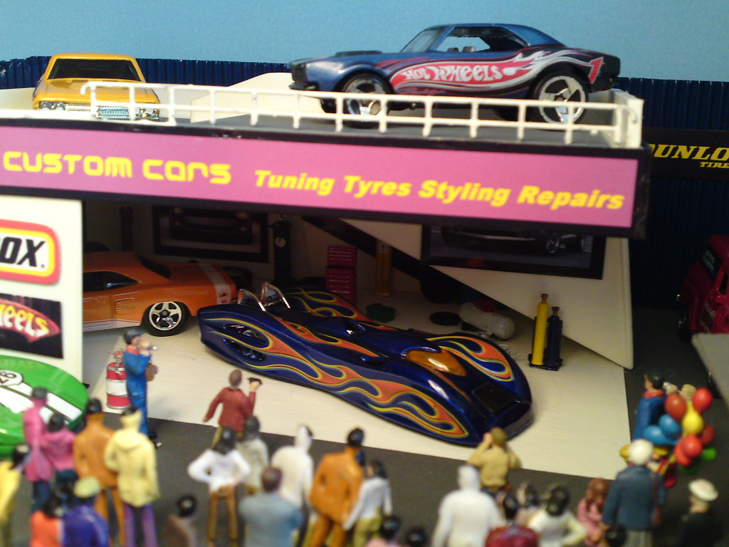 Custom Cars Opens for Business. Star Car is the Hot Wheels GROUND FX