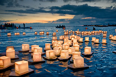 """Floating Lanterns,"" Dwight K. Morita. 2010 Pluralism Project Photography Contest Grand Prize Winner."