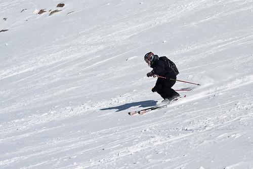 Pat Skiing