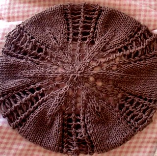 Ravelry Autumn Leaves Beginner Lace Beret Pattern By