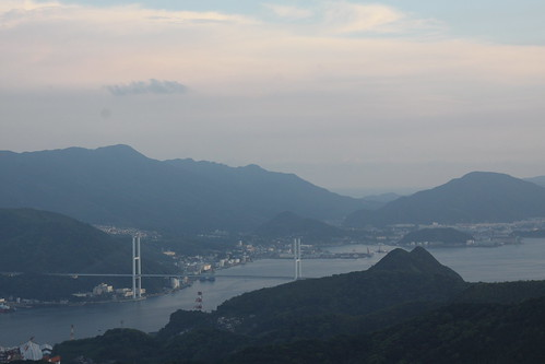 View from Inasa-san