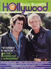 Paul Michael Glaser & David Soul (Starsky & Hutch) on the cover of Rona Barrett's Hollywood, April 1977 (Silverbluestar) Tags: color men film vintage magazine stars tv handsome cover hollywood actress movies actor celebrities starskyhutch 1970s 1977 davidsoul paulmichaelglaser ronabarrett