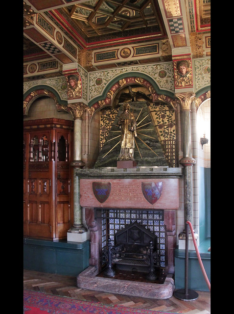 Fireplace in Lord Bute's bedroom