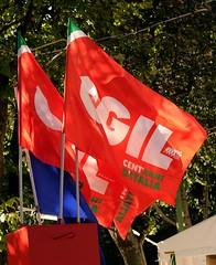 Bandiere CGIL Europa