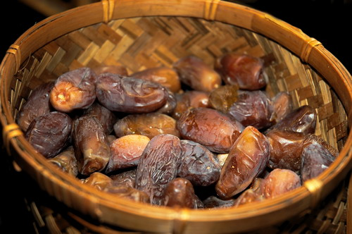 Dates to break fast with