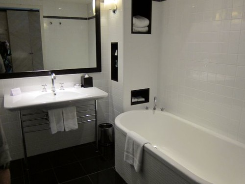 Bathroom at the Amora