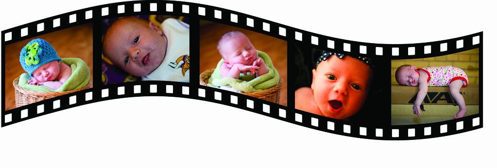 Chris Baby Photo Filmstrip