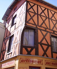 boutique rue du chateau (ambertois) Tags: france auvergne colombages puydedome ambert