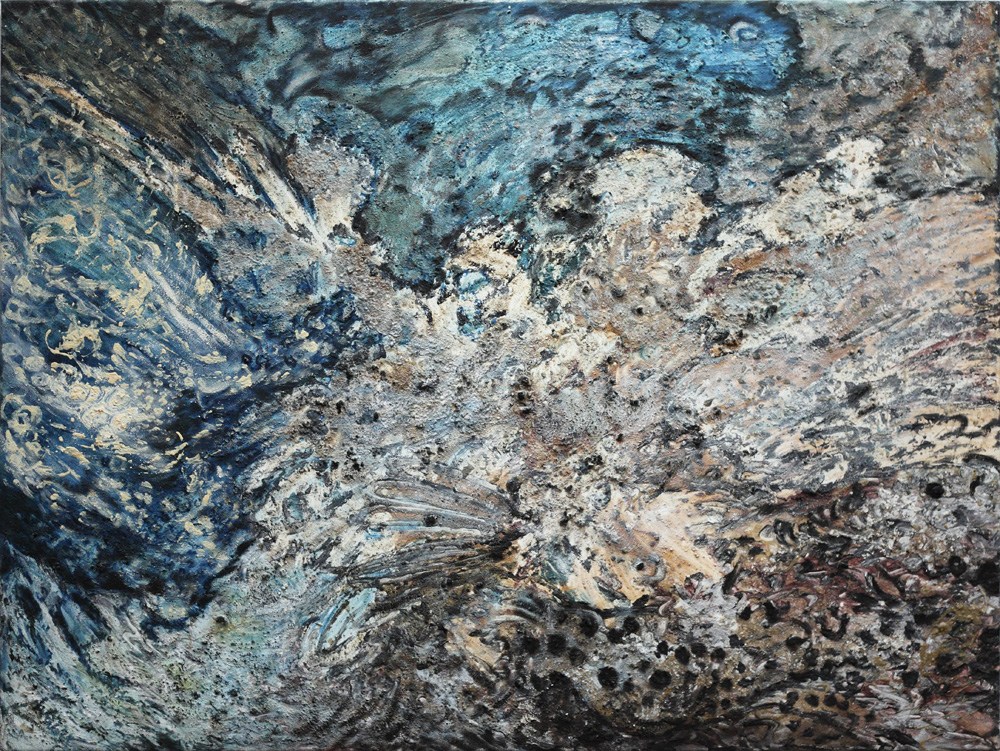 Linde Waber, Natur – Blau [Nature – Blue], 2006
