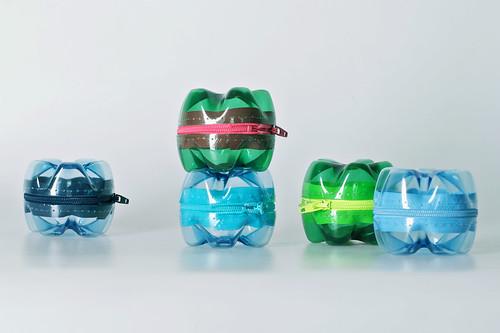 اعادة استغلال العبوات البلاستيكية