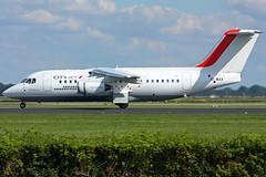 CityJet Avro 146 at Schiphol (Yesper) Tags: british spl schiphol aerospace avro 146 eham cityjet polderbaan