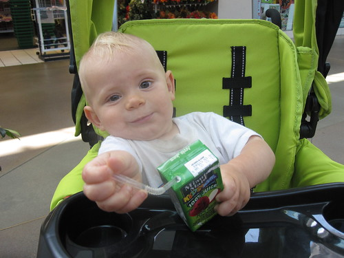 Stephen's First Juice Box