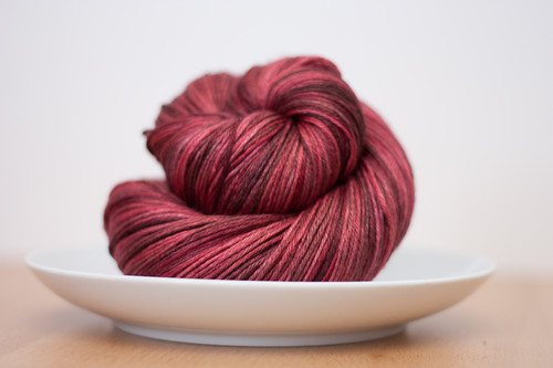 "Eclair Silk Sock in ""Red Velvet Cake"""