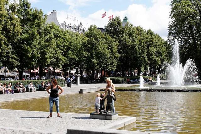 Oslo fountains