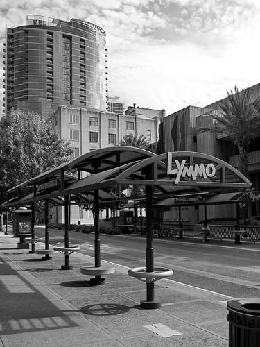 Lymmo Bus Stop