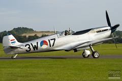 PH-OUQ - MK732 - CBAF.IX.1732 - Stichting Koninklije Luchtmacht Historische Vlucht - Supermarine 361 Spitfire LF9  - Duxford - 100905 - Steven Gray - IMG_8260