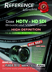 HDV Reference cable @PLASA 2010 - zoom su Flickr...