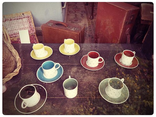 Chilham ~ vintage teacups