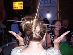 Hair Straw Art (klmontgomery) Tags: memphis july lausanne bealestreet 2010 silkyosullivans klmonty klmontgomery