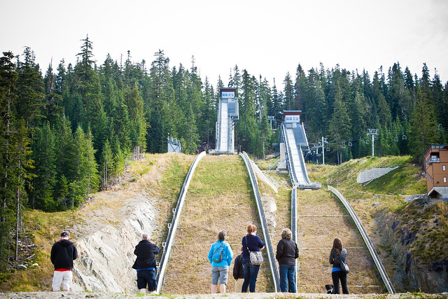 Site of Olympic Ski Jumping