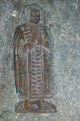 Brass monument c1540