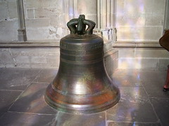 Carcassonne - St Nazaire Basilica Bell (Le Monde1) Tags: city france castle st french bell basilica olympus ramparts chateau carcassonne walled languedocroussillon nazaire fe110 lemonde1