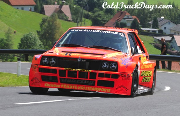 VIDEO // LANCIA DELTA @ SEGGAUBERG HILL CLIMB