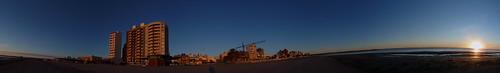 Amanecer en Puerto Madryn en 360 grados