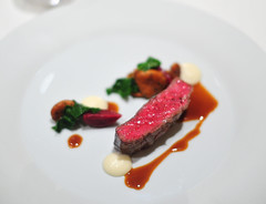 "Chef's 6th Course: Snake River Farms ""Calotte de Boeuf Grillee"""