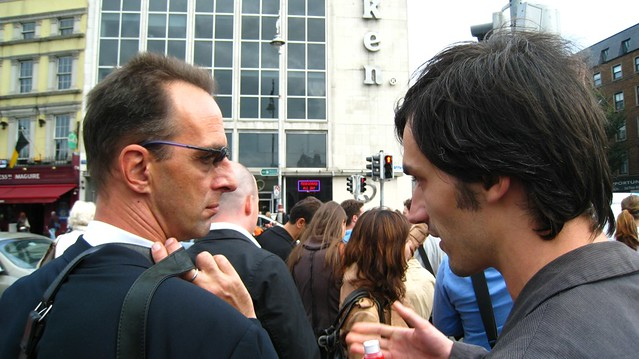 Andreas Eigendorf and Georg Seifert at ATypI Dublin 2010