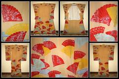 Kika - Showa Era Maiko Hikizuri (Kurokami) Tags: ladies girls summer woman toronto ontario canada girl japan lady asian japanese fan women asia traditional maiko geiko geisha junior end kimono fans kika summers kitsuke furisode sensu hikizuri susohiki