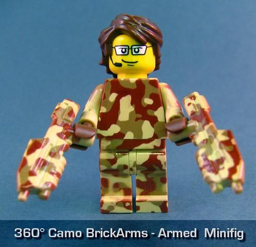 360° Camo BrickArms - Armed Minifig