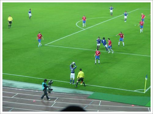 試合中@日本代表 VS セルビア代表_201004