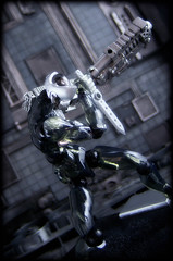 Revoltech Assemble Borg 003 - Baron (Ed Speir IV) Tags: toy toys actionfigure japanese action borg clear figure scifi assemble cyborg import baron kaiyodo poseable revoltech assembleborg code003
