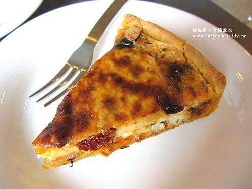 PEKOE蕃茄黑橄欖香料鹹派