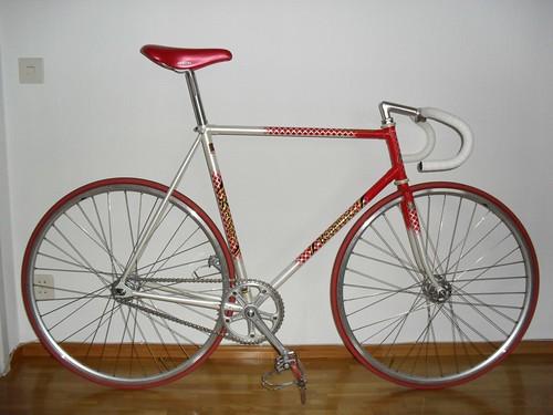 Ken Evans track bike