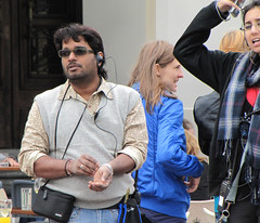 Agent Vinod (Helmuts Guigo) Tags: india cinema set movie stars action indian latvia cameras spy bollywood mumbai director producer filming makingof riga saifalikhan hindi jamesbond thriller kareenakapoor agentvinod sriramraghavan ravikishan