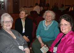 AAC Cleveland 2009 - Carolyn Hoard, Betsy Forrest, Mary Mild, and Judy Foster