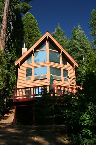 our cabin in Yosemite West
