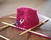 Slipper Toe ~ 252 of 365 (sammie619) Tags: wool pen knitting toe olympus knitted slipper knittingneedles epl1 2010inphotos shuttersisters365 2010yip