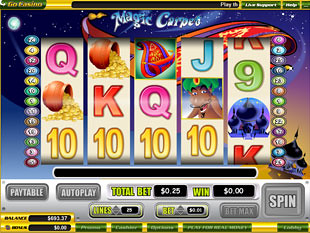 Magic Carpet slot game online review