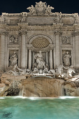Trevi Fountain - Rome, Italy (DiGitALGoLD) Tags: italy rome roma fountain night nikon long exposure italia shot eruope trevi trevifountain nikkor f28 fontanaditrevi d3 2470mm 2470