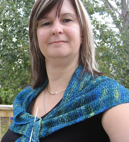 shawlette front