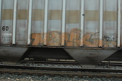 Monk (A & P Bench) Tags: train bench graffiti pacific stock canadian graff railfan freight rolling freighttrain rollingstock fr8 benching freightgraffiti freighttraingraffiti