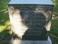 NICHOLAS and HILDAH MATLOCK