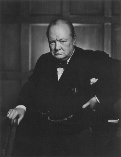Winston Churchill, por Y. Karsh