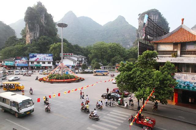 Yangshuo town, Guangxi, China