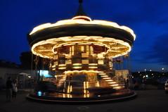 Karussel (Schlombat) Tags: nacht kinder lightening karussel