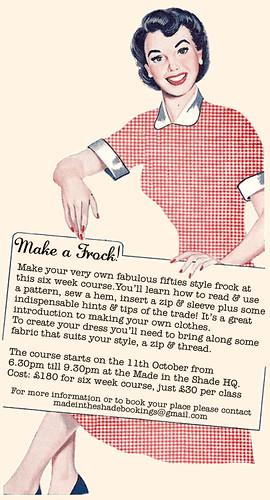 Make a frock!