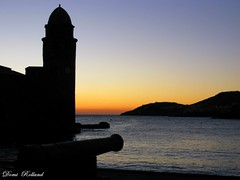 Viens  ... (Domi Rolland ) Tags: mer france canon europe bleu collioure leverdesoleil méditerranée pyrénéesorientales flickrsbest